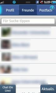 facebook app samsung wave